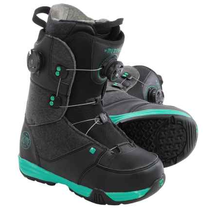 Rome Memphis BOA® Snowboard Boots (For Women) in Black - Closeouts