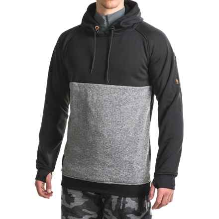 Rome Mountain Hoodie (For Men) in Charcoal/Black - Closeouts