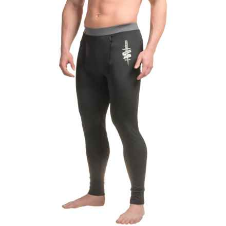 Rome Mountain Weight Base Layer Pants (For Men) in Black - Closeouts