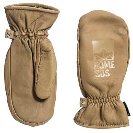 Rome Poacher Mittens - Waterproof, Insulated (For Men) in Tan - Closeouts