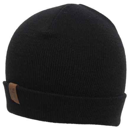 Rome Pow Beanie (For Men) in Black - Closeouts