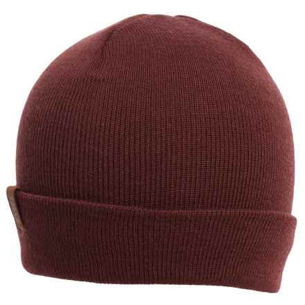 Rome Pow Beanie (For Men) in Burgundy - Closeouts
