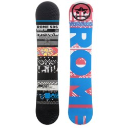 Rome Reverb Snowboard - Wide in 155 Graphic/Blue W/Black Logo