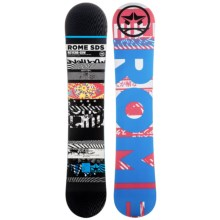 Rome Reverb Snowboard - Wide in 155 Graphic/Blue W/Black Logo - Closeouts