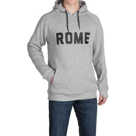 Rome Riding Hoodie - Windproof (For Men) in Heather Grey - Closeouts