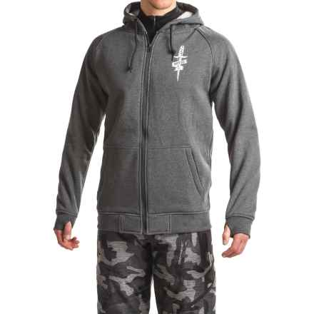 Rome Riding Zip-Up Hoodie (For Men) in Charcoal - Closeouts