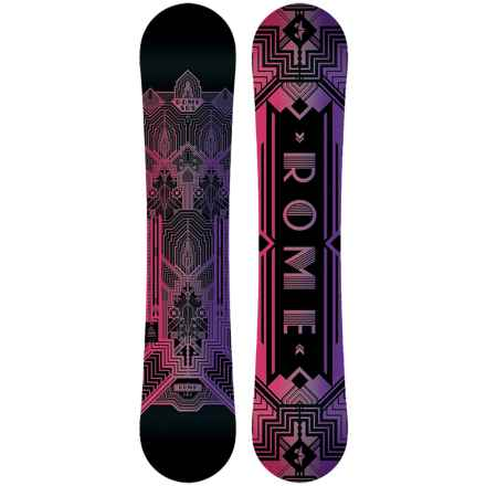 Rome Romp Snowboard (For Women) in Lark - Closeouts