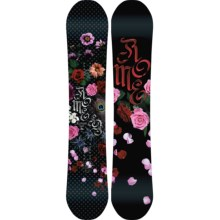 Rome Scandal Snowboard (For Women) in 150 Rose Pedals - Closeouts