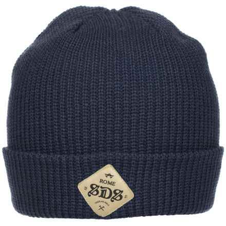 Rome SDS Beanie (For Men) in Navy - Closeouts