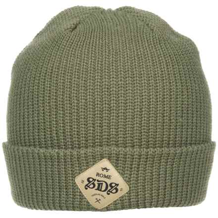 Rome SDS Beanie (For Men) in Olive - Closeouts