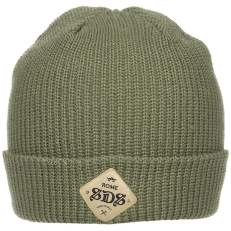 Rome SDS Beanie (For Men) in Olive