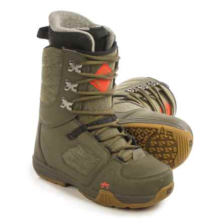 Rome Smith Snowboard Boots (For Men) in Olive - Closeouts