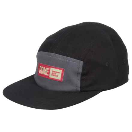 Rome Syndicate Baseball Cap (For Men) in Black - Closeouts