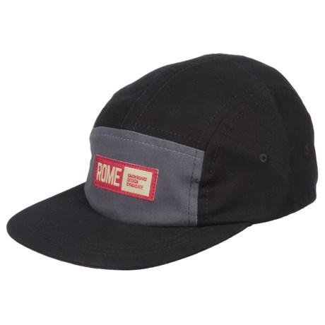 Rome Syndicate Baseball Cap (For Men) in Black
