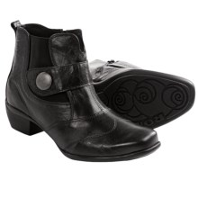Romika Anna 07 Ankle Boots - Leather (For Women) in Black - Closeouts