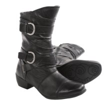 Romika Anna 10 Leather Boots (For Women) in Black - Closeouts