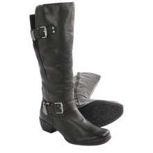 Romika Anna 11 Boots - Leather (For Women) in Black - Closeouts