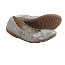 Romika Bahama 101 Ballet Flats - Leather (For Women) in Ash Glitter - Closeouts