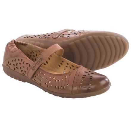 Romika Bahamas 103 Mary Jane Shoes - Leather (For Women) in Bark - Closeouts