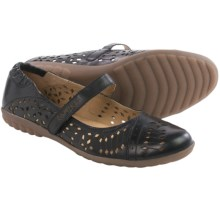 Romika Bahamas 103 Mary Jane Shoes - Leather (For Women) in Black - Closeouts