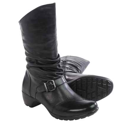 Romika Banja 08 Leather Boots (For Women) in Black - Closeouts
