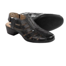 Romika Barbados 06 Sandals - Leather, Closed Toe (For Women) in Black - Closeouts
