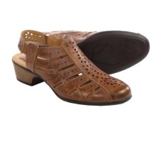 Romika Barbados 06 Sandals - Leather, Closed Toe (For Women) in Brown - Closeouts