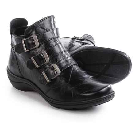 Romika Cassie 03 Ankle Boots - Leather (For Women) in Black - Closeouts