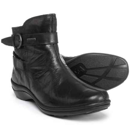 Romika Cassie 36 Ankle Boots - Waterproof (For Women) in Black Tropic - Closeouts