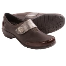 Romika City Light 73 Shoes - Leather, Slip-Ons (For Women) in Espresso - Closeouts