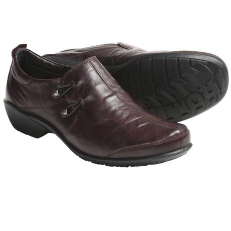 Romika Citylight 21 Shoes - Slip-Ons (For Women) in Burgundy