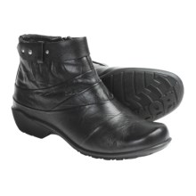 Romika Citylight 23 Ankle Boots - Leather (For Women) in 07100 Black Tropic - Closeouts