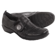 Romika Citylight 43 Shoes - Leather, Slip-Ons (For Women) in Black - Closeouts