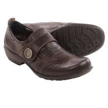 Romika Citylight 43 Shoes - Leather, Slip-Ons (For Women) in Dark Brown - Closeouts