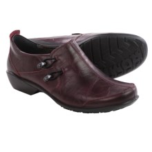 Romika Citylight 45 Shoes - Leather, Slip-Ons (For Women) in Burgundy - Closeouts