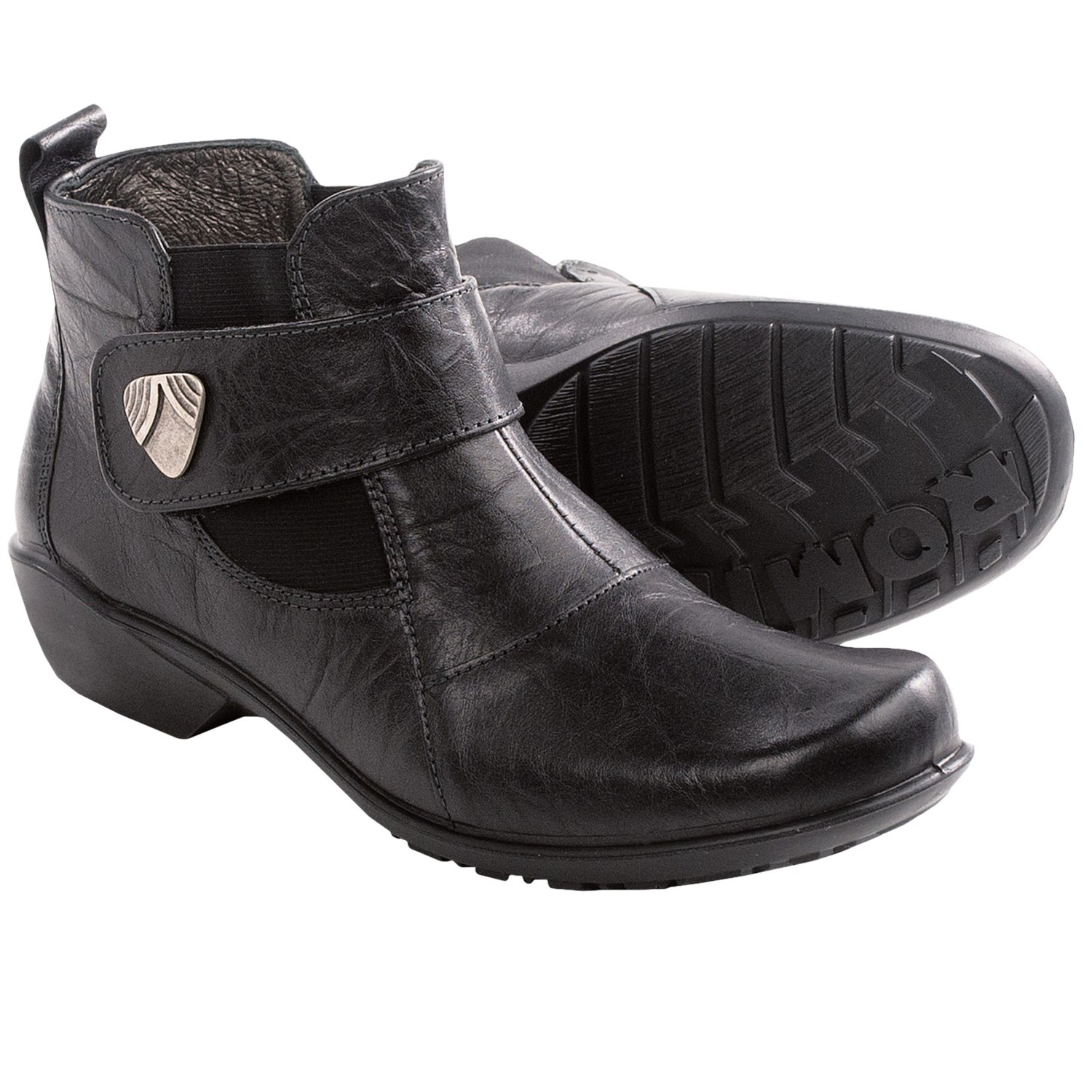 Romika Citylight 78 Ankle Boots - Leather (For Women) in Black