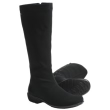 Romika Citytex 102 Boots (For Women) in Black Stretch - Closeouts