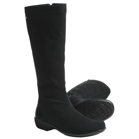 Romika Citytex 102 Boots (For Women) in Black Stretch
