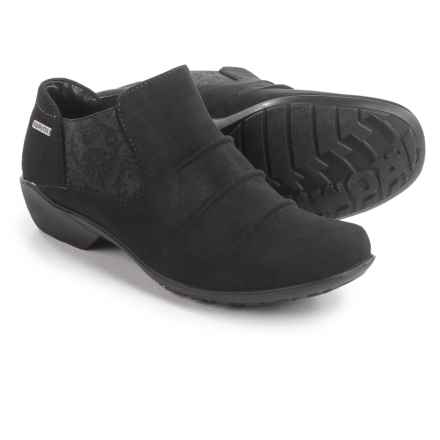 Romika Citytex 131 Booties - Waterproof, Slip-Ons (For Women) in Black - Closeouts