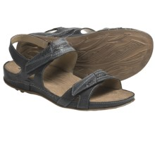 Romika Fidschi 25 Sandals - Leather (For Women) in Black - Closeouts