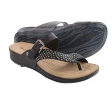 Romika Fidschi 34 Sandals - Leather (For Women) in Black - Closeouts
