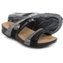 Romika Fidschi 36 Sandals - Leather (For Women) in Black - Closeouts