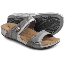 Romika Fidschi 36 Sandals - Leather (For Women) in Steam - Closeouts