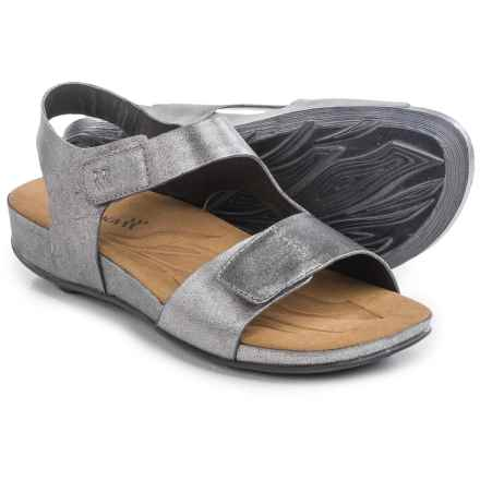 Romika Fidschi 40 Sandals - Leather (For Women) in Basalt - Closeouts