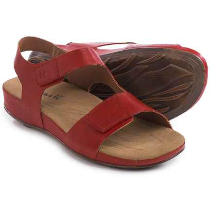 Romika Fidschi 40 Sandals - Leather (For Women) in Rubin - Closeouts