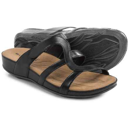 Romika Fidschi 42 Sandals - Leather (For Women) in Black - Closeouts