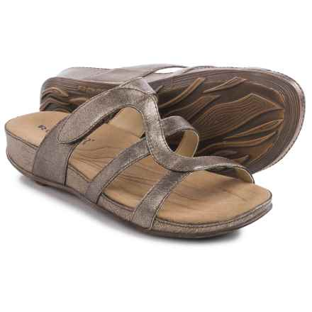 Romika Fidschi 42 Sandals - Leather (For Women) in Bronze - Closeouts