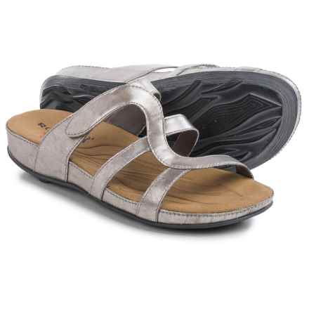 Romika Fidschi 42 Sandals - Leather (For Women) in Platinum - Closeouts
