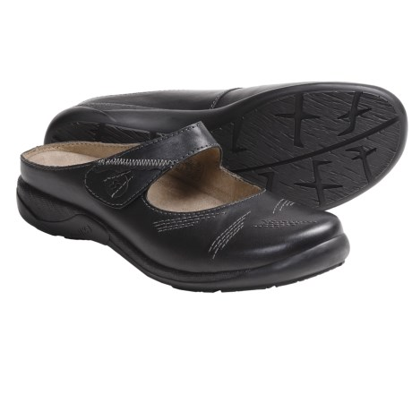 Romika Gina 02 Mary Jane Shoes - Leather, Slip-Ons (For Women) in Black
