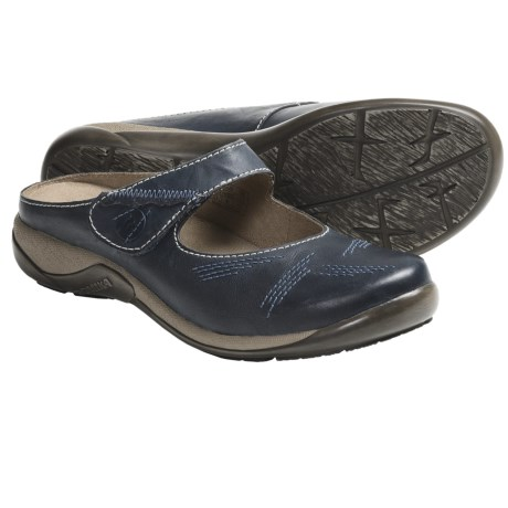 Romika Gina 02 Mary Jane Shoes - Leather, Slip-Ons (For Women) in Navy